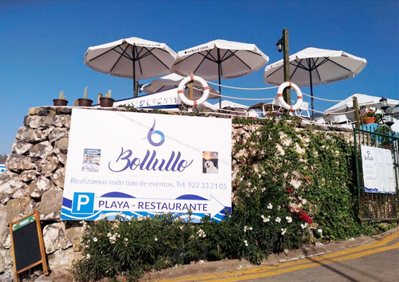 Ресторан на пляже Боллулло