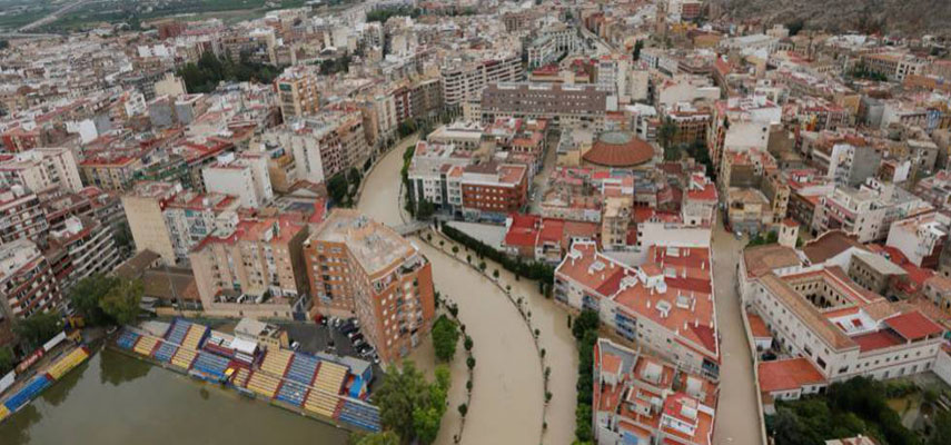 Большая часть Испании находится под угрозой из-за проливных дождей