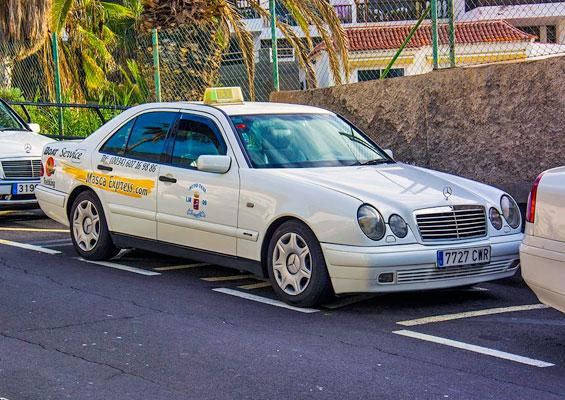 Такси на острове Тенерифе