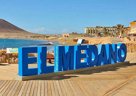 У пляжа Эль Медано