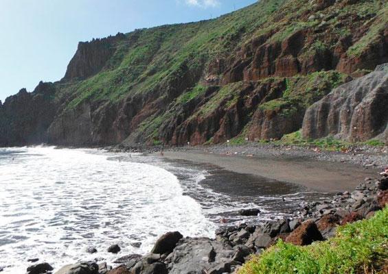У пляжа Лас Гавиотас