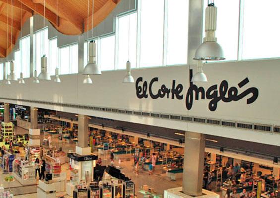В торговом центре El Corte Inglés