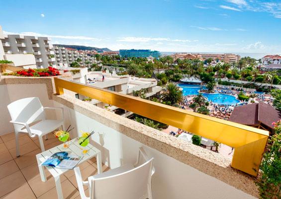 Вид из номера гостиницы Best Tenerife