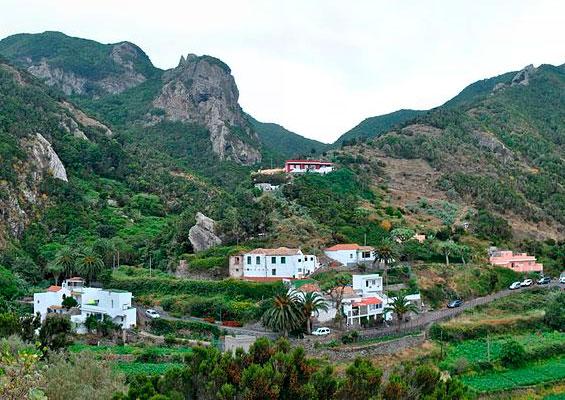 Вид на деревню Чаморга