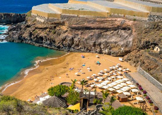 Вид на пляж Абама