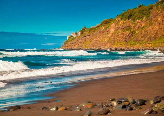 Вид на пляж del Socorro