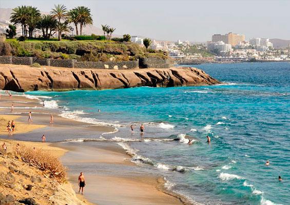 Вид на пляж Эль Дюке
