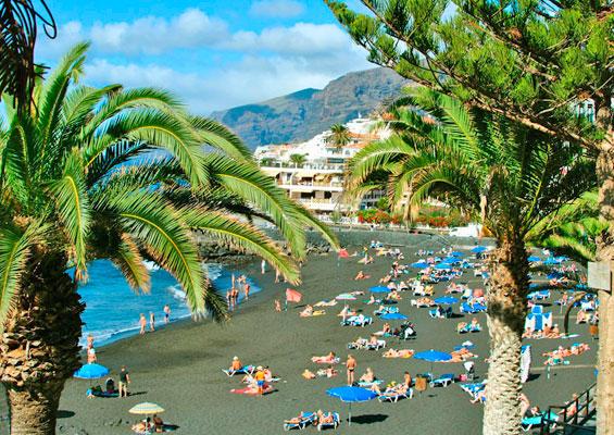 Вид на пляж Ла Арена