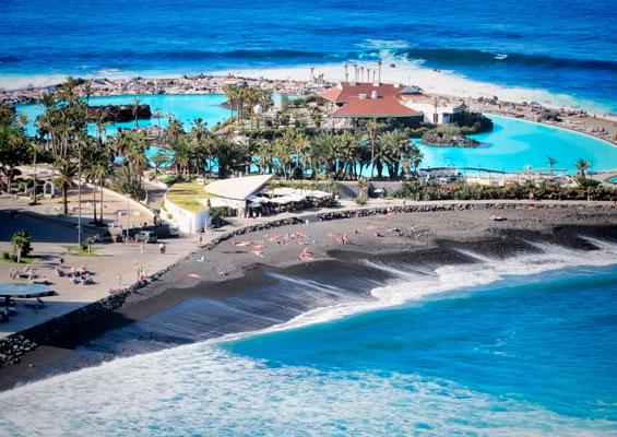 Вид на пляж Мартианес