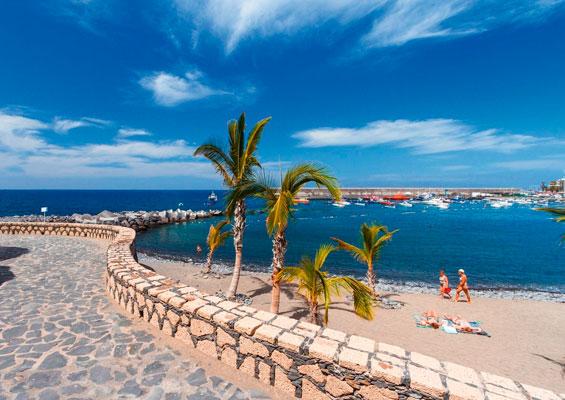 Вид на пляж Сан Хуан