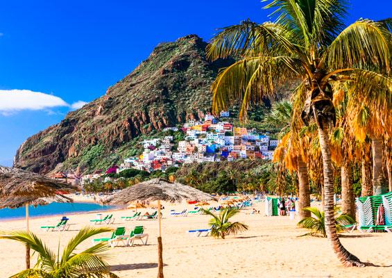 Вид на пляж Тереситас