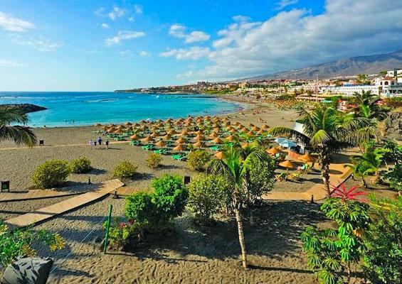 Вид на пляж Троя