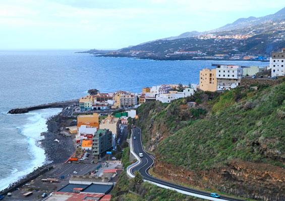 Вид с смотровой площадки Mirador Cruz del Carmen