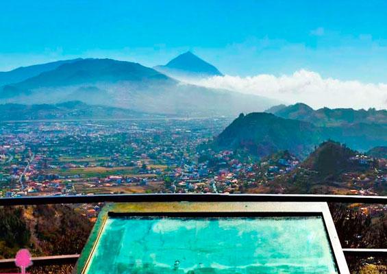 Вид с смотровой площадки Mirador de Jardina