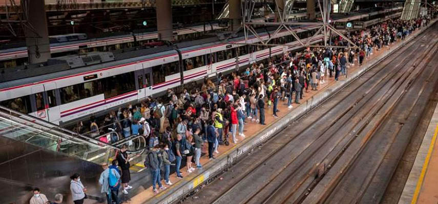 Машинисты поездов Renfe продолжают бастовать