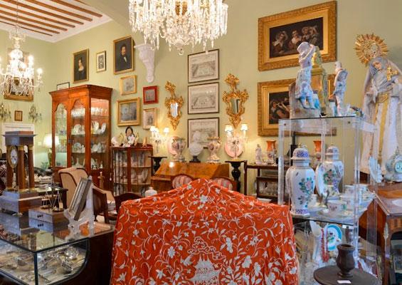 Антикварный магазин La Casa del Cardenal
