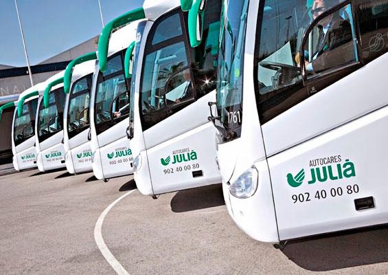Из Барселоны до Port Aventure на автобусе Julia