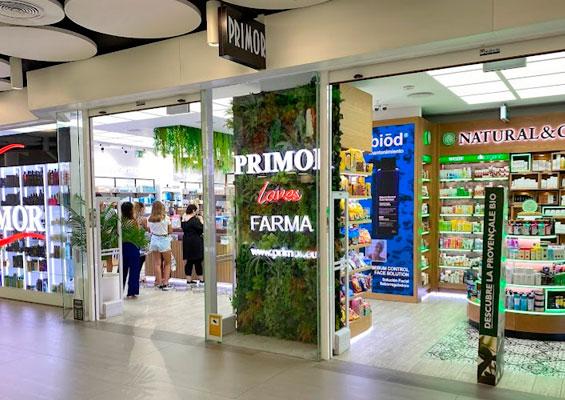 Магазин парфюмерии Primor