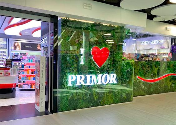 В магазине косметики Primor