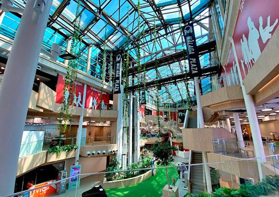В торговом центре Malaga Plaza